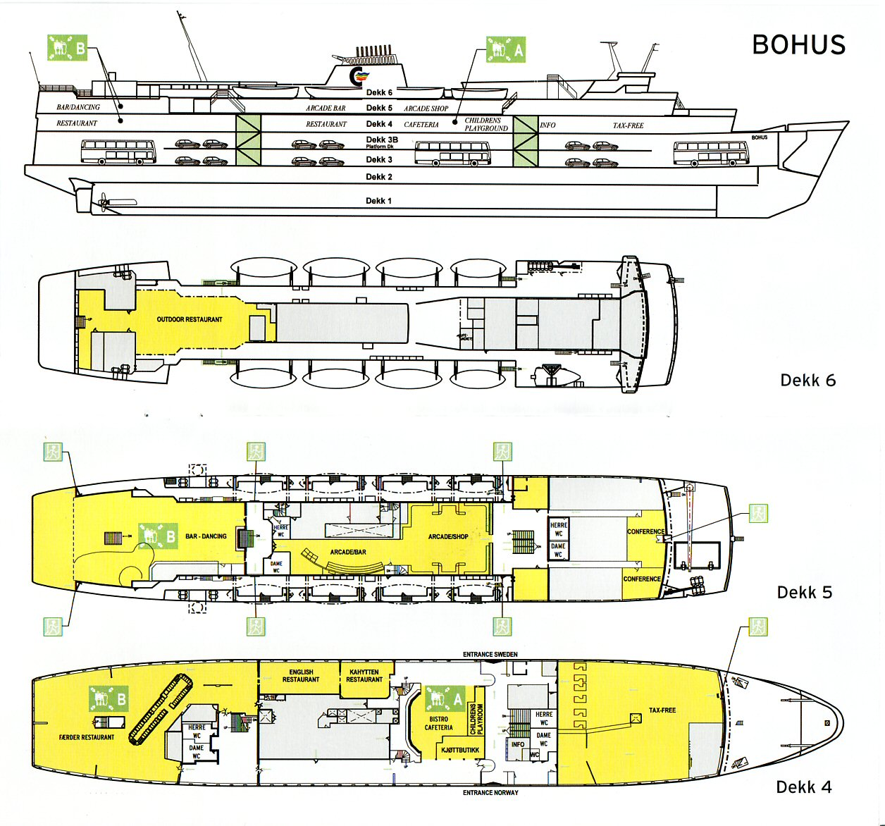 Deckplans Corsica 3 1 Engine Diagram Prinsessan Desire 1971 As Bohus 2009 Deckplan